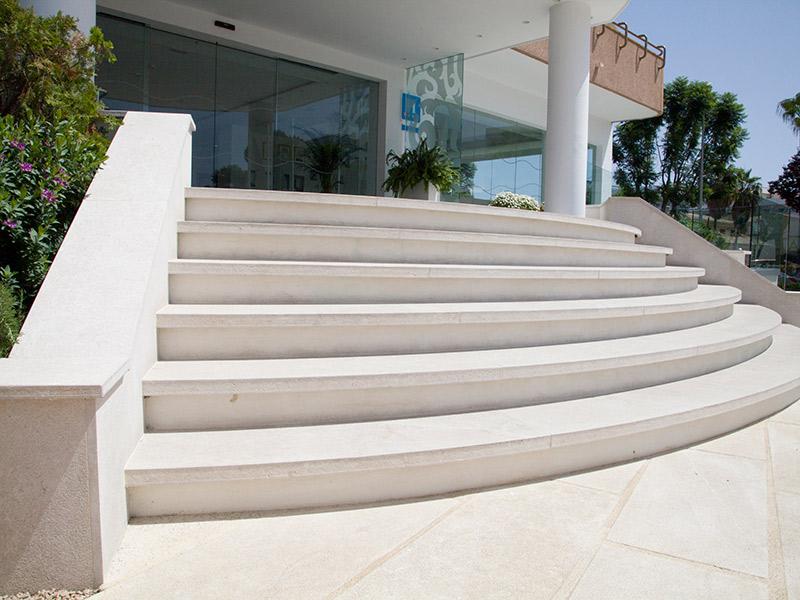 escaleras exterior